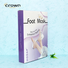 Exfoliating foot peel mask extract dry treatment for baby soft skin foot mask