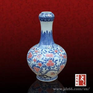 Qing dynasty chinese porcelain antique reproductions vase