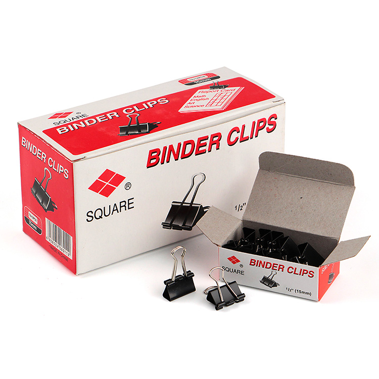 Gepersonaliseerde kleine mini micro Metal rvs bindmiddel clips