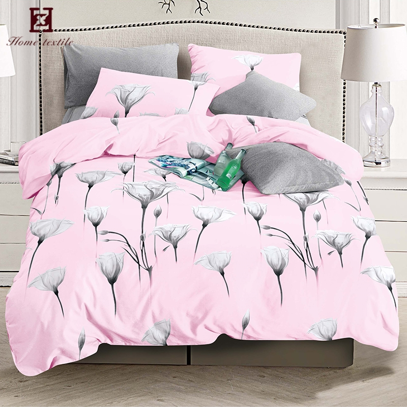 Manufacturer Whole Good Quality Quilt Cover Bed Sheets Channel Bedding Set