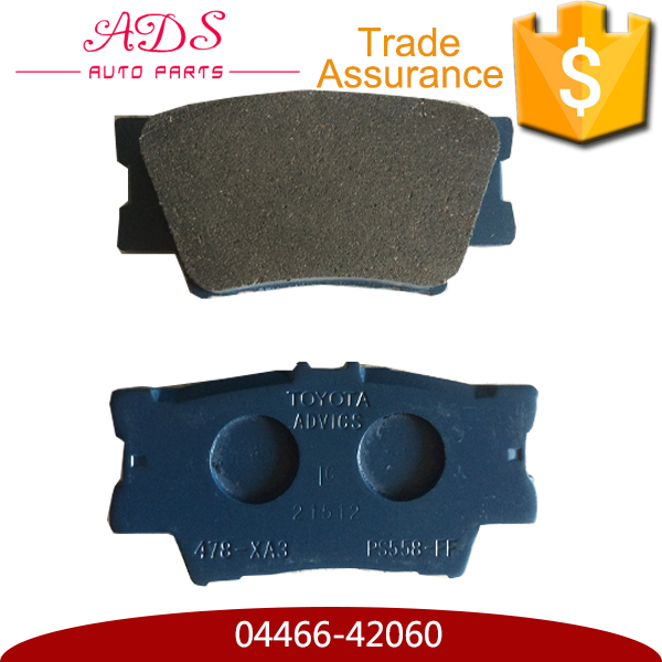 04466-42060 wholesale advanced brake disc and pads cost for Toyota Camry RAV4 Lexus ES300 auto spares parts online