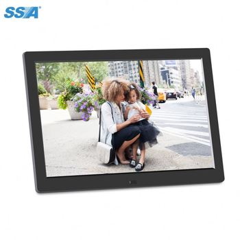"2018 hot selling 7"" 8"" 10"" 12"" 15"" inch auto rotation vertical display digital photo frame"