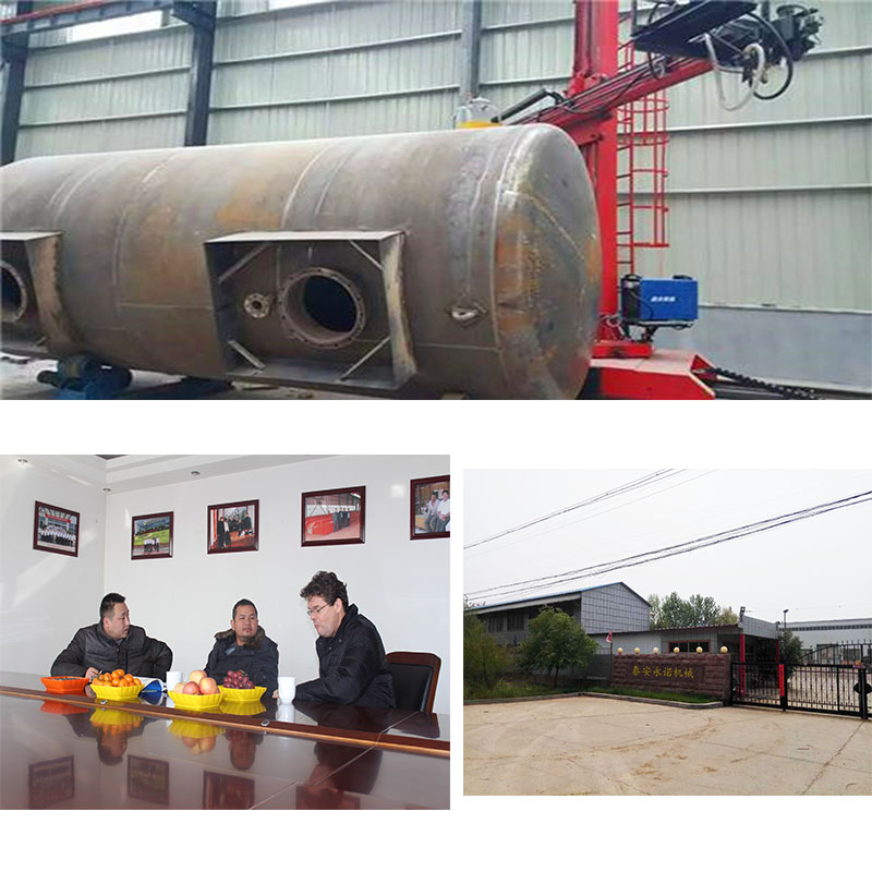 Oil storage tank above ground made from carbon steel with best price