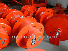EXTENSION CABLE REEL installed on electric flat car,crane,forklift Using collector copper slip ring carbon brush