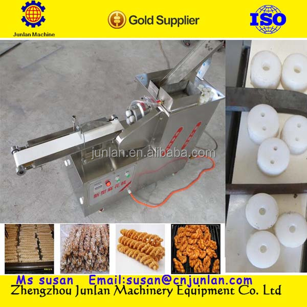Black Sesame Flavor Small Pastry or Chinese Doughnut or Fried Dough Twist Machine