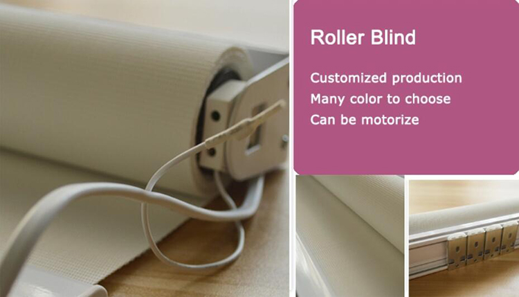 Motorized outdoor roller blinds window shutters wireless wall switch for roller blinds