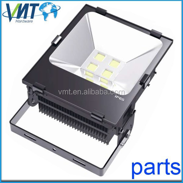 ONLY EMPTY HOUSING 200w die cast led flood light aluminium housing part made in China
