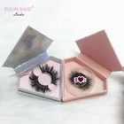 private label mink eyelashes 3d mink lashes, custom diamond packaging
