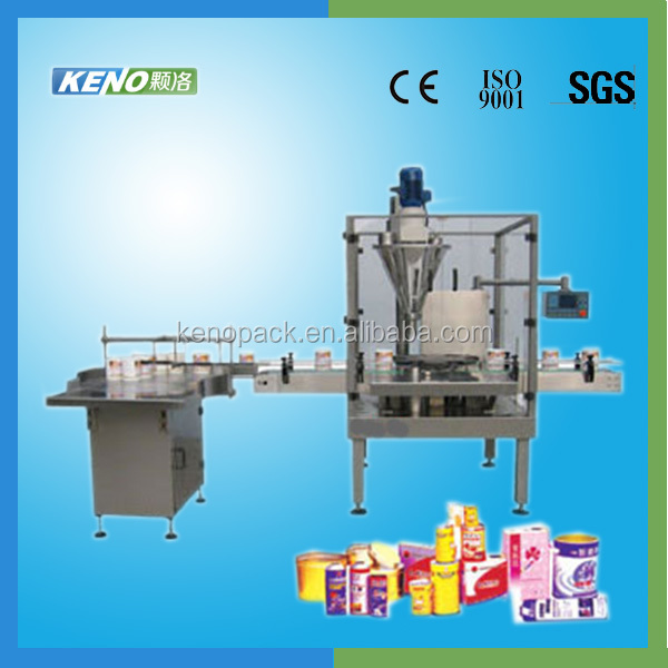 KENO-F105 bov aerosol can filling machine