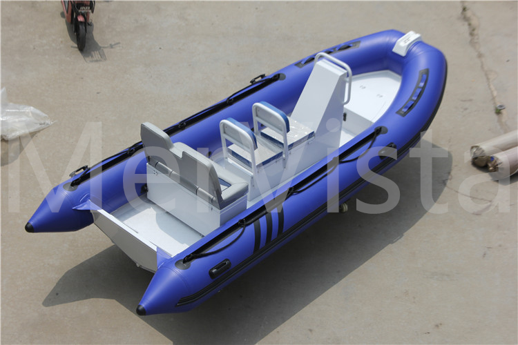Aluminum Hull Rib Inflatable Boat For Sale Cheaper Dinghy With Aluminum Bottom