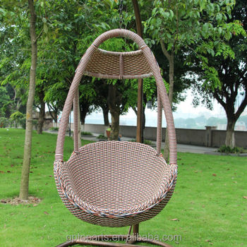 Outdoor Furniture Freestanding Chair Garden Swing Egg