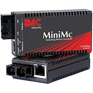 B&B MiniMc Module, TP-TX/FX-MM1300-SC - 1 x RJ-45 , 1 x SC - 10/100Base-TX, 100Base-FX - Internal - 854-10623