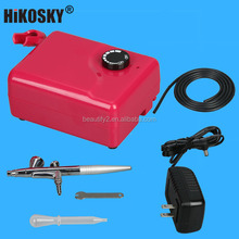 Airbrush cosmetics makeup air brush compressor kit