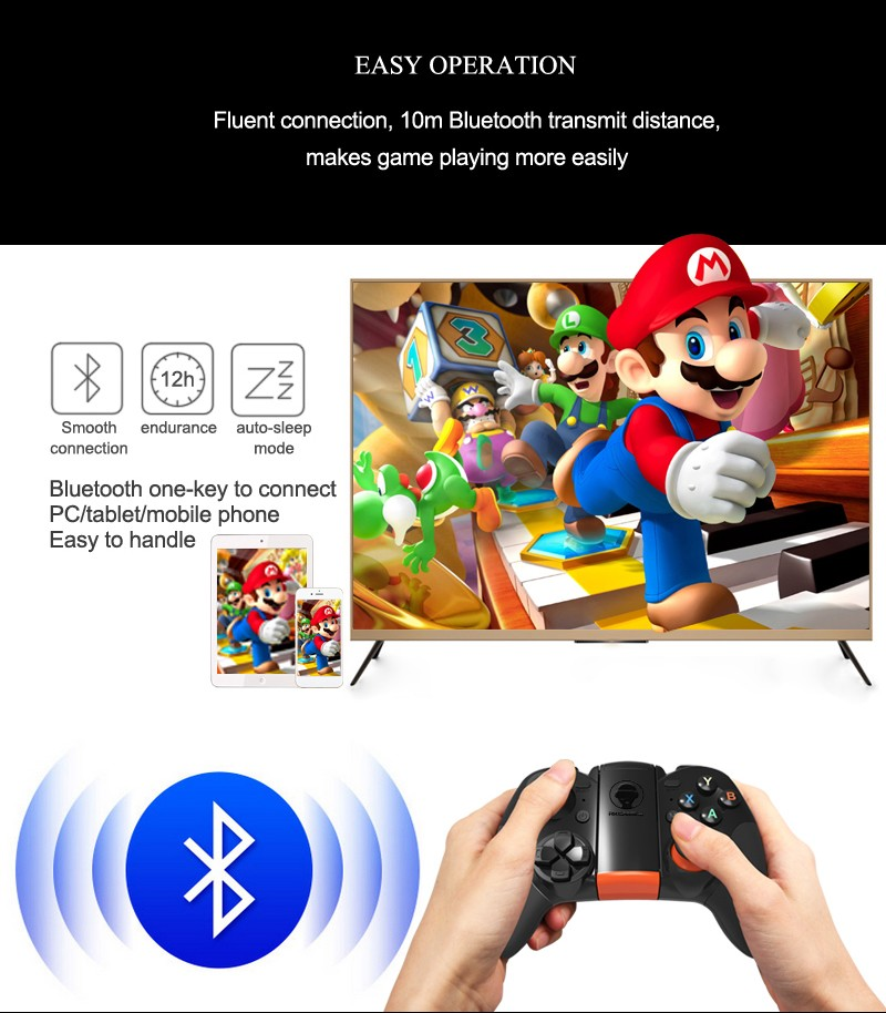 New design mini usb joystick game controller vr game pad for smartphone