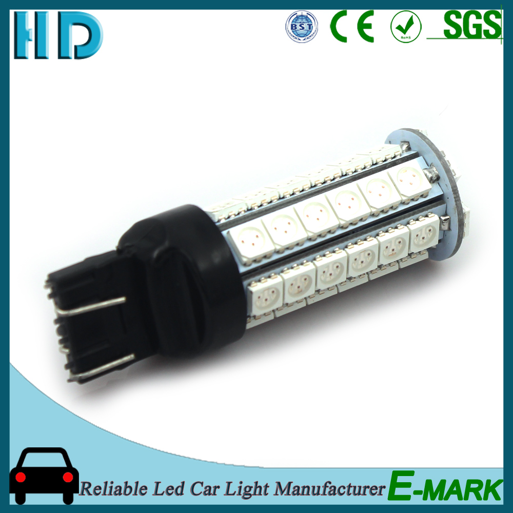 2016 Hot selling smd t20 s25 t25 1156 1157 7443 auto led bulb car turn light stop lamp