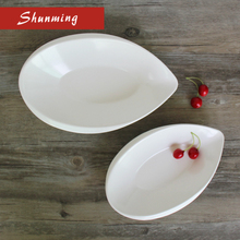 Most popular products wholesale melamine soup plate for restaurant use