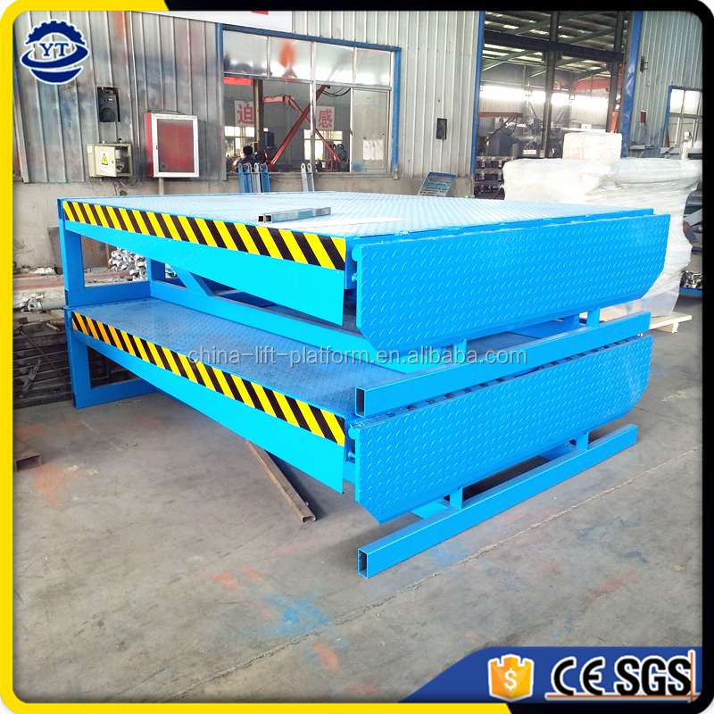 Warehouse Loading Bay Equipment 10T Hydraulic Container Forklift Unloading Ramp Manufacturer