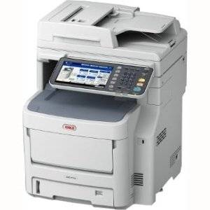Oki Data - Oki Mc770 Led Multifunction Printer - Color - Plain Paper Print - Desktop - Copier/Fax/Printer/Scanner - 37 Ppm Mono/35 Ppm Color Print - 28 Ipm Mono/27 Ipm Color Print (Iso) - 1200 X 600 Dpi Print - 37 Cpm Mono/35 Cpm Color Copy - Touchscreen - 600 Dpi Optical Scan - Automatic Duplex