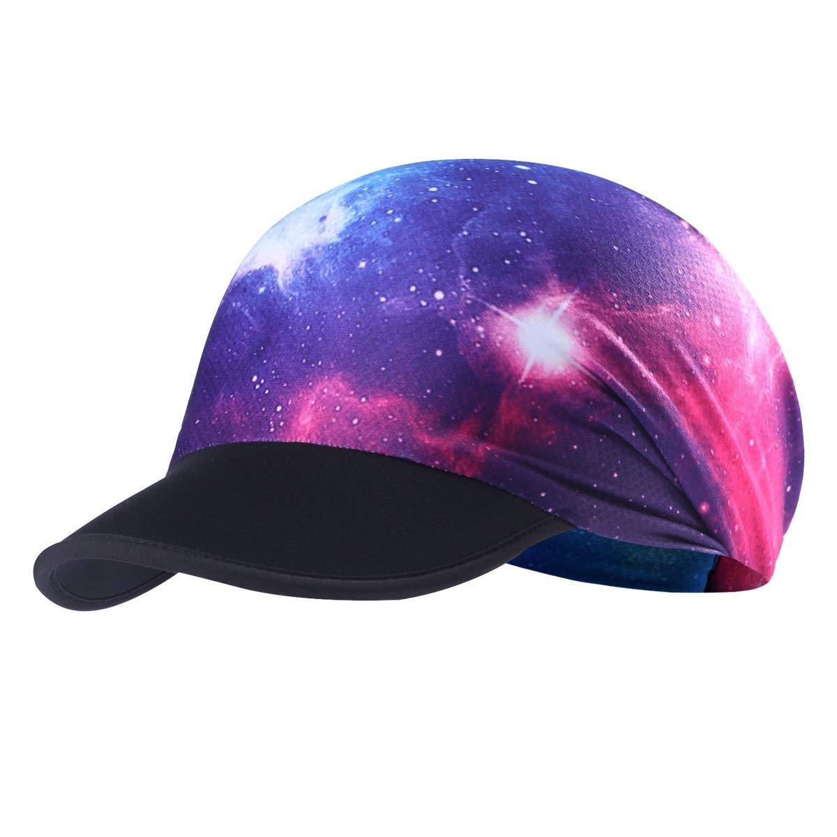 ef82d80c0ef Get Quotations · AXBXCX Headband Women Headwrap with Sun Protective Soft  Brim Sun Visor Cap Brim