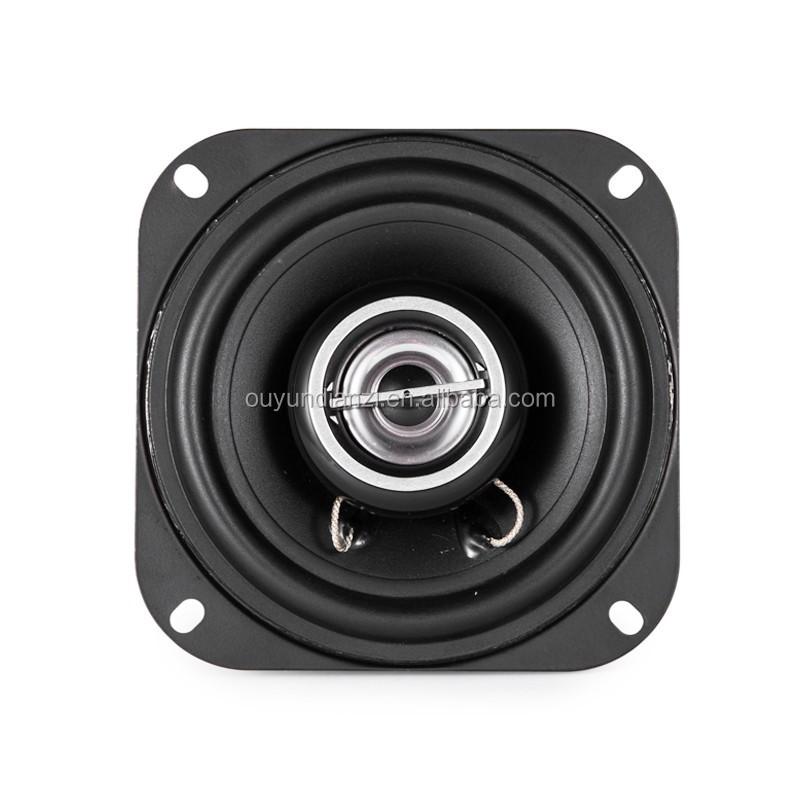 4 Inch Coaxial Silk Dome Speaker With Good For Car Speaker Voice
