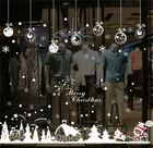New Christmas Decoration Wall Sticker ,Christmas Shop Window Sticker, Christmas Glass Window Stick