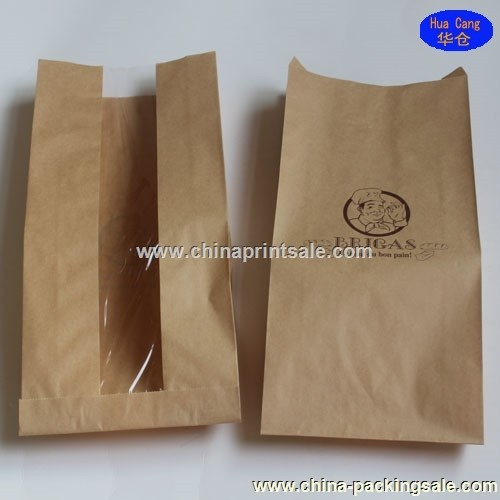 2015 Safe eco-friend foil lined paper food packaging bag
