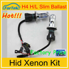 Wholesale HID headlights hid bi-xenon kit h4-4 8000k 12v 24v 35w hid xenon bulb