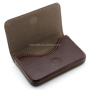 Vintage Leather magnetic Credit Card Cases/Holders
