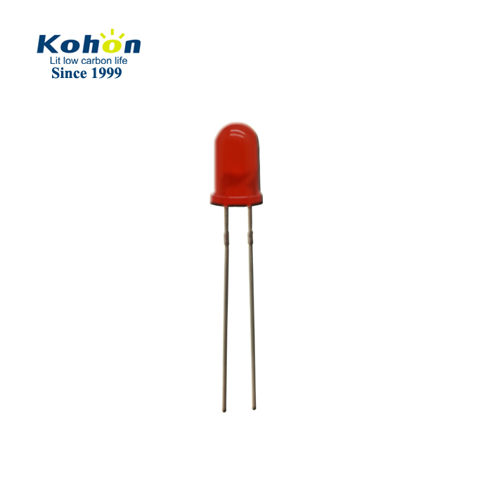 Round type red color 5mm led diode for traffic lights