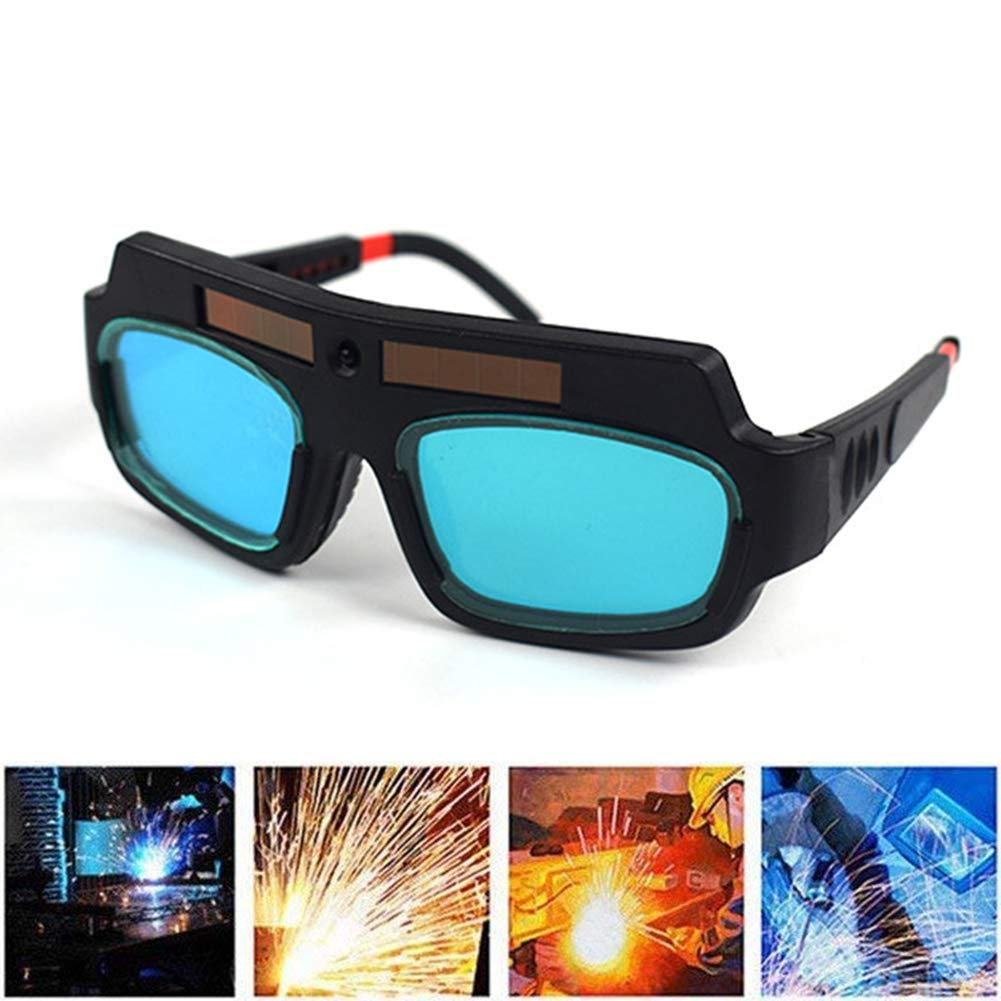7e078819 Get Quotations · Welding Goggles, Solar Auto Darkening Welding Goggle  Safety Protective Welding Glasses Mask Helmet, Eyes