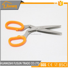 High grade multifunction food safety cutting kitchen scissors