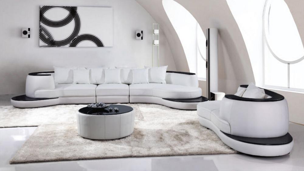 Moderne Hot Mod Les Round Hall De L 39 H Tel Canap En Cuir Demi Lune Canap Demi Lune Canap