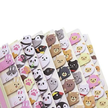 Leuke Dier Sticker Bookmark Marker Memo Vlaggen Index Tab Sticky Notes