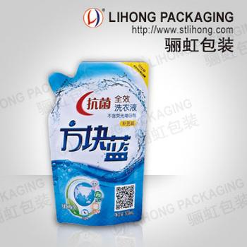 500g Liquid Laundry Detergent Plastic Packaging Bag