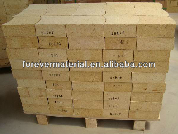 80% Al2O3 EAF roof high alumina brick
