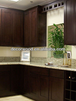 Black color american standard wooden kitchen cabinet buy for American standard cabinets kitchen cabinets