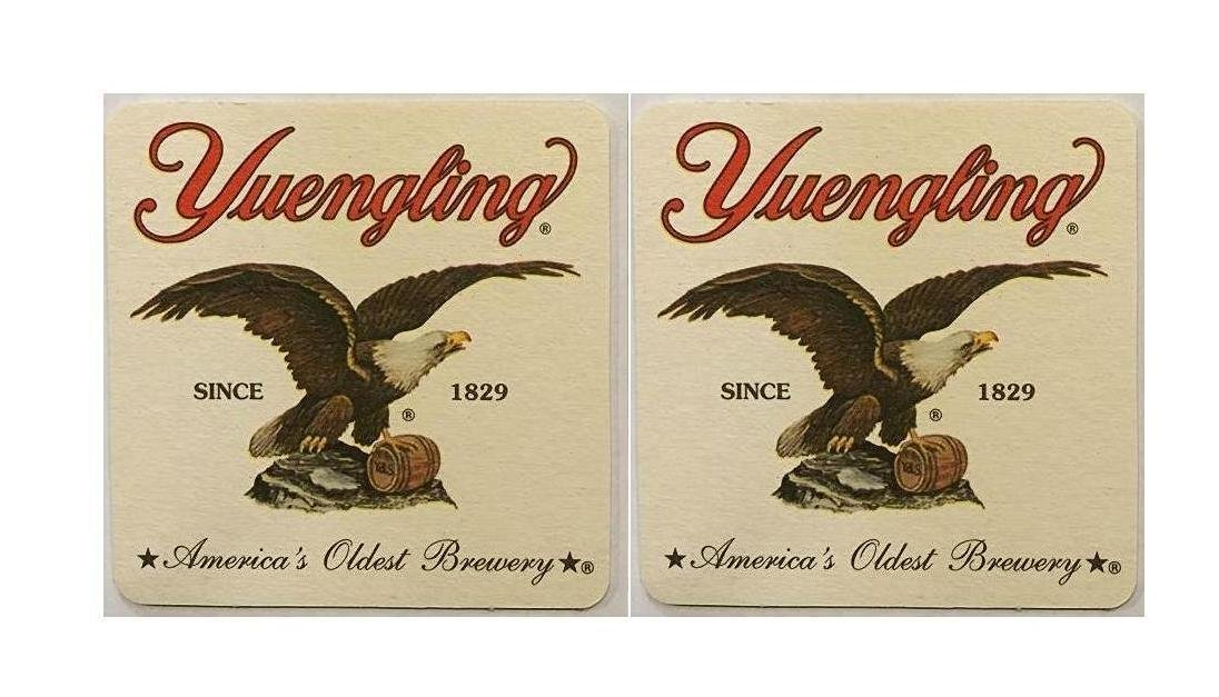 Yuengling Since 1829 America's Oldest Brewery 20 Beer Bar Pub Coasters New