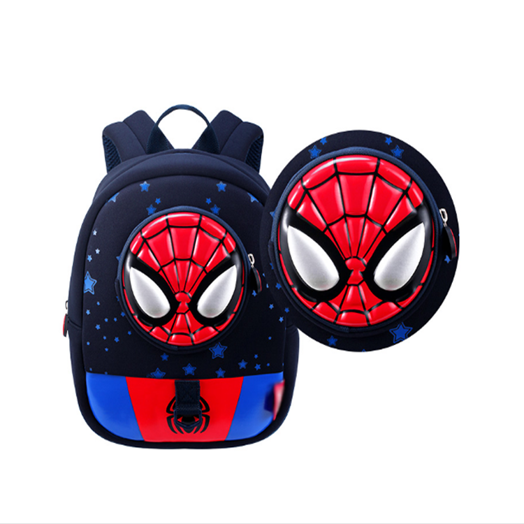 GX Lost 견인 로프 Kids Backpack School Bag