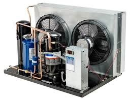 Copeland 2 HP, 208-230V, 1 PH, R404a, 7,160 BTU/hr, Air Cooled, Condensing Unit