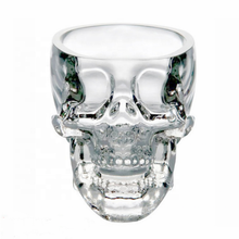 Crystal Skull Head Cup Pirate Shot Glas voor Wijn