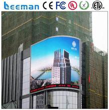 indoor church led screen outdoor led clock time date temperature sign stage background smd led screen