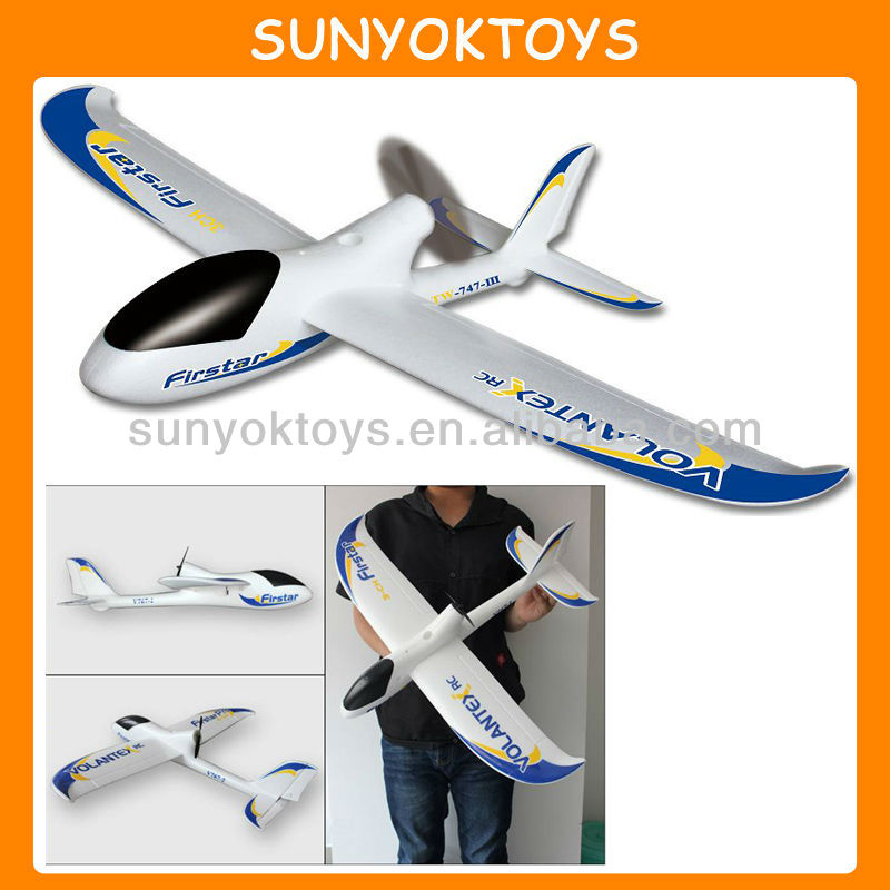 Firstar Perfect Size Park Flyer Pusher 2.4G 4CH With Brushless Motor, Model Tech RC Planes