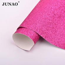 JUNAO 20x34 см блестящий золотой цвет искусственная кожа блестящая ткань PU кожзам лист синтетическая швейная одежда аппликация для поделок свои...(Китай)