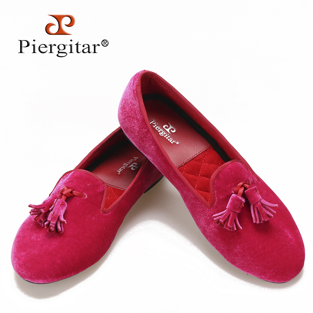 tassel women pink shoes slipper velvet BUnFXq
