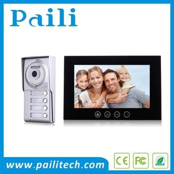 10 Video Door Phone Intercom System 2 Wire Villa Entry Door Phone