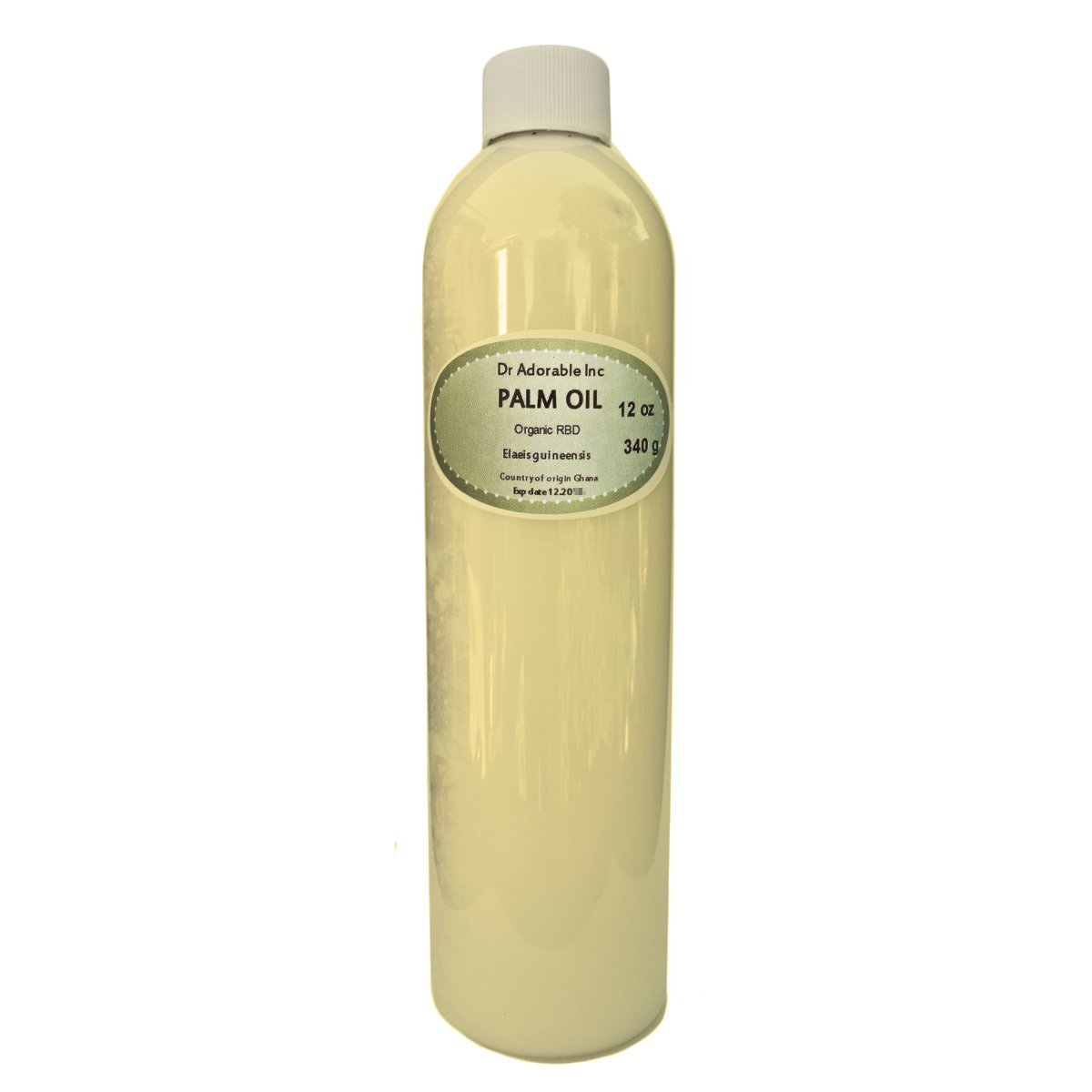 Palm Oil Pure Cold Pressed Organic 24 Oz