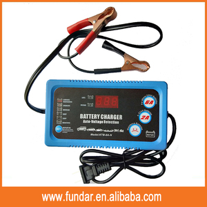 Hot selling 6V12V 2A6A Vehicle Battery Charger Maintainer Smart Fast automotive marine car battery charger
