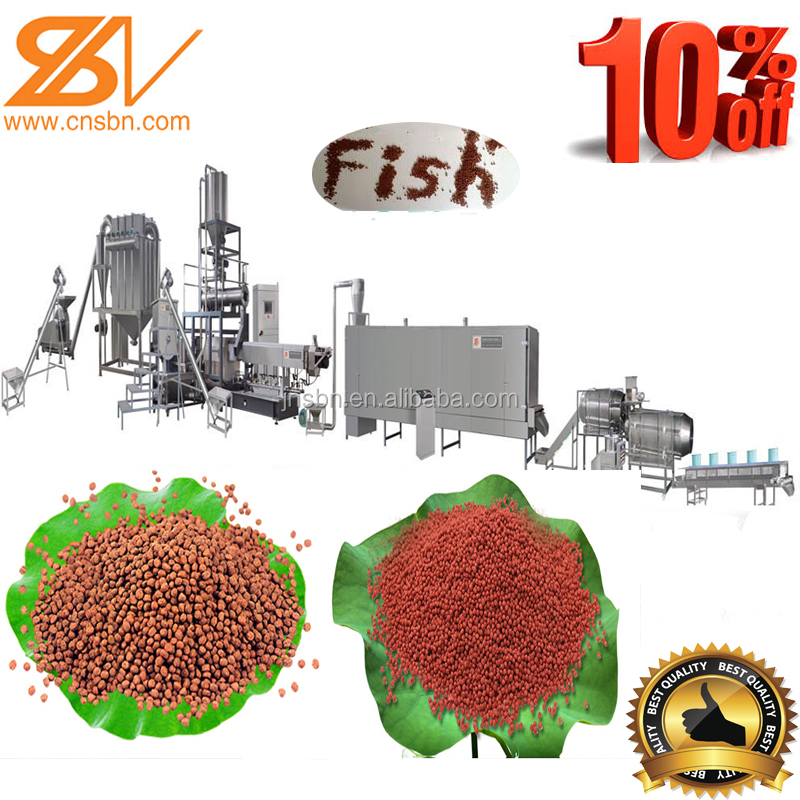 new design floating fish feed pellet automatic machine