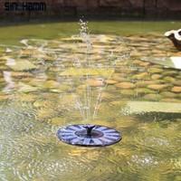 Cute Solar Water Pump For Bird Bath/Outdoor Watering Submersible Pump/Solar Water Fountain Pump