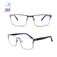 popular stainless rectangle optical eyeglasses frames for men